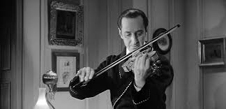 Basil Rathbone violin