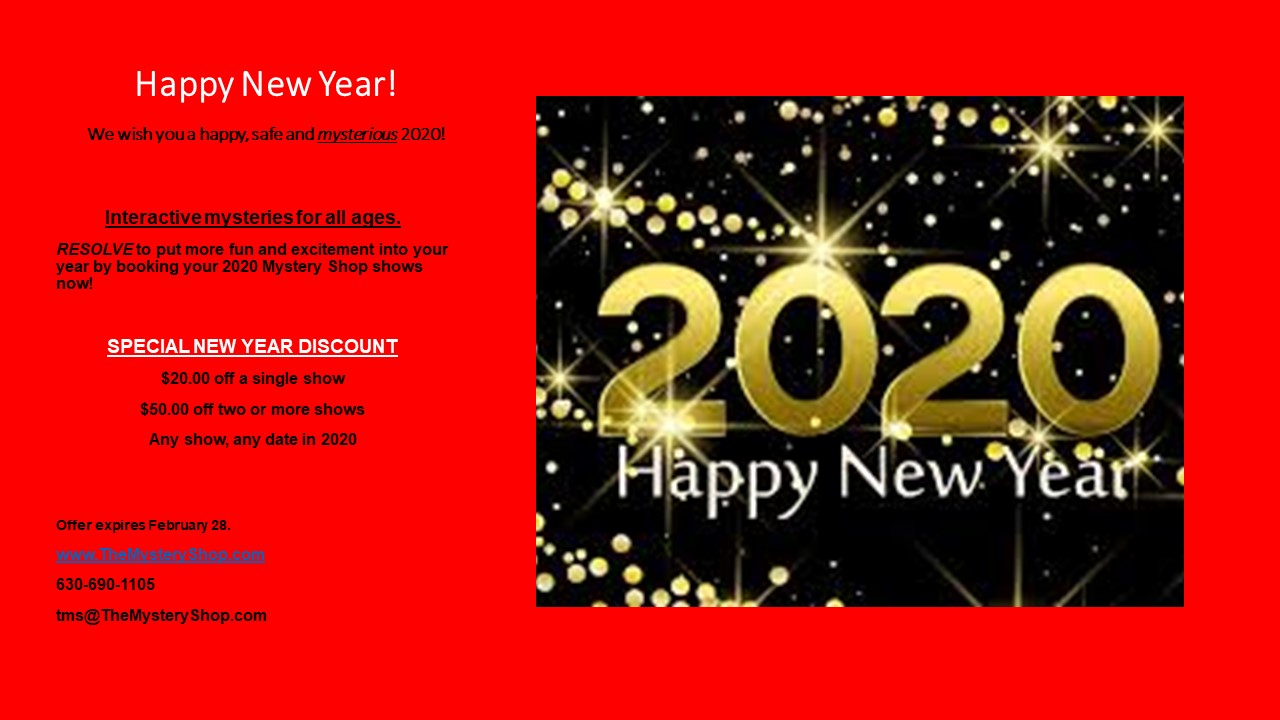 New Years Discount 2020
